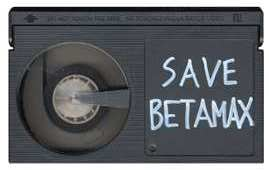 Save Betamax