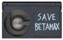 Save Betamax