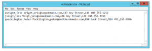 powershell import-csv no header