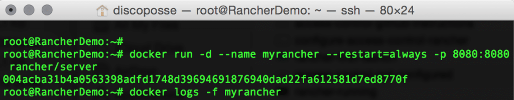 start-rancher