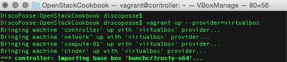vagrant-up-virtualbox